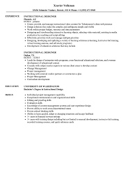 Instructional Design Resume Examples Instructional Designer Resume Samples Velvet Jobs 19