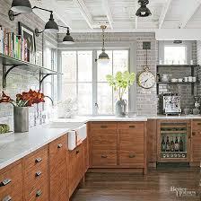 Industrial Meets Rustic in this Kitchen | Delightful Kitchen Designs ...