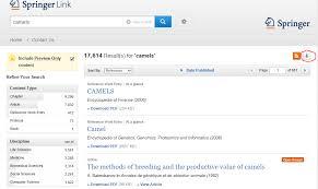 Download/export a list of search results in SpringerLink : Springer ...