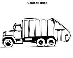 Small Picture Operating Garbage Truck Coloring Pages Download Print Online
