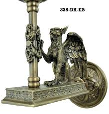 gothic wall sconce vintage hardware lighting griffin wall sconce es gothic candle wall sconces uk