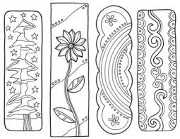 Perfect for your coloring makerspace! Bookmarks To Color Classroom Doodles