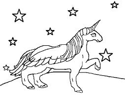 Winged Unicorn Disegno Da Colorare Unicorno Per Colorir 600470