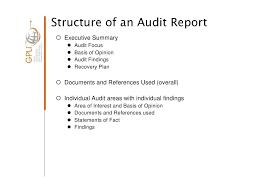 Internal Quality Audit Report Template External Format