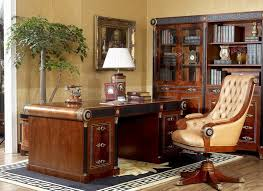 classical office furniture. 0010 antique wooden office table spain design classic furniture classical t