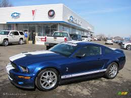 2008 Vista Blue Metallic Ford Mustang Shelby GT500 Coupe #26832435 ...