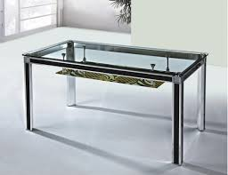 contemporary metal furniture. Contemporary Metal Frame Glass Dining Table Under Storage. #dinning #dinningtable #dinningroom Furniture