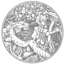 Small Picture This Celtic Dragon Coloring Pages 23399 Celtic Mandala Design