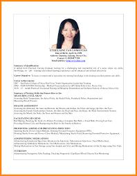 Resume Sample For Nurses Fresh Graduate Resume For Study