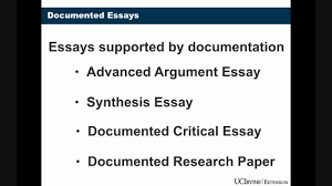 documented essay video lecture documented essay coursera