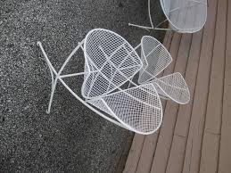 vintage mid century modern patio furniture. Maurizio Tempestini Mid-century Modern Patio Bench Chair Salterini In Good Condition For Sale Vintage Mid Century Furniture D