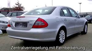 Mercedes Benz E 200 Kompressor Elegance B085599 Iridiumsilber 2006 ...
