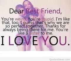 Cute Best Friend Quotes Unique Cute Tumblr Dear Best Friend Quote