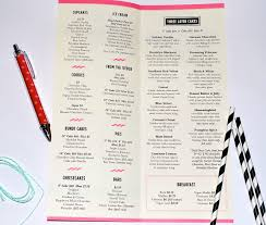Little Cupcake Bakery Menu As Told By Ash And Shelbs