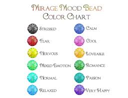 Mood Colors Meanings What Do The Colors Mean On A Mood Necklace Best Seller Necklace