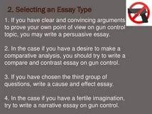 essay pro gun control medical writing jobs from home proposal  essay pro gun control