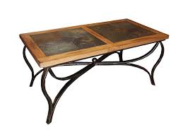 coffee table metal legs wood top surprise decoration in rustic with home ideas 29