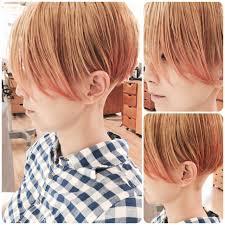 ツーブロック前下がりショートボブで最高にクールな方程式が完成 髪型