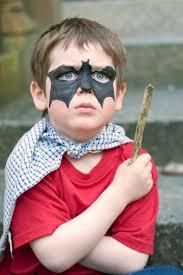 bat face paint