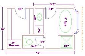 bathroom dimensions. Unique Bathroom MasterBathFloorPlanswithDimensions   Bathroom Design 10x16 SizeFree  Master Floor Plan With Inside Dimensions