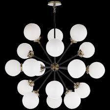 lighting globes glass. Bistro Large Glass Globes Chandelier Lighting