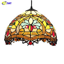 stained glass pendants s tiffany pendant lamp stained glass pendant light restaurant lamps kitchen living