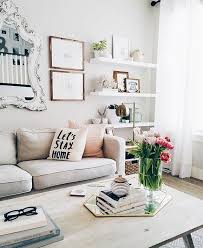 clean living room. Girly Living Room - Loving The Mirror On Wall And Use Of A As Tray Clean