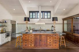 Small Picture Rustic modern kitchen island kitchen farmhouse with tall ceilings