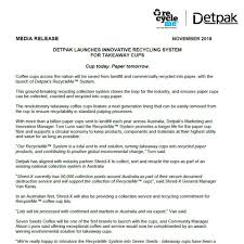 Press Releases Detpak