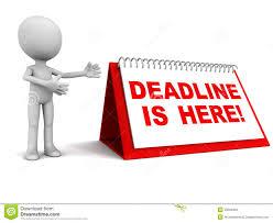 Αποτέλεσμα εικόνας για deadline