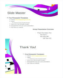 Project Outline Template Word Free Excel Format Powerpoint Samples ...