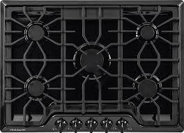 30 5 burner gas cooktop.  Gas Frigidaire FGGC3047QB 30 Inch Gas Cooktop With LP Conversion Option  Seamless Recessed Burners SpillSafe Angled Front Controls Continuous Iron Grates  Throughout 5 Burner 0