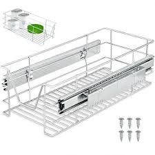 Tiroir Télescopique Rangement Armoire Cuisine Réfrigérateur Largeur