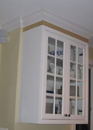 The Amazing Along With Gorgeous Crown Molding For Kitchen Cabinets