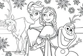 19 Awesome Frozen Coloring Pages Pdf Coloring Page