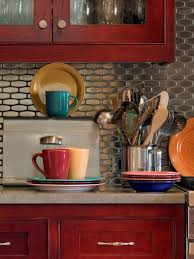 Pictures Of Kitchen Backsplash Ideas From HGTV HGTV Magnificent Kitchen Cabinet Backsplash