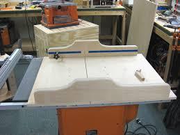 build table saw sled d cross cut vision