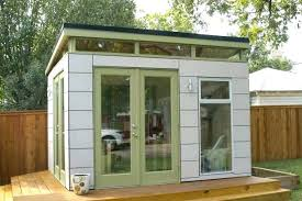 garden sheds office. Shed Interior Ideas Garden Home Office Prefab Mission Relocation Completed Green Sheds