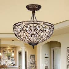 flush mounted lighting. drake modern roman chandelier flush mounted lighting