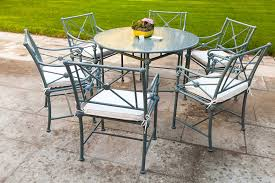how to clean and maintain metal outdoor furniture