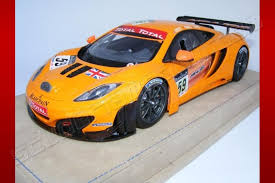 mclaren mp4 12c gt3 special edition. tecnomodel 2011 mclaren mp412c gt3 spa 59 orange mclaren mp4 12c gt3 special edition