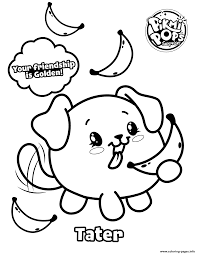 Pikmi Pops Moose Toys Coloring Pages Printable