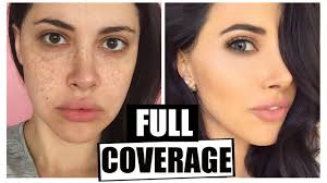 foundation routine full coverage flawless skin 2016