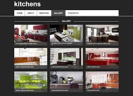Kitchen Web Design