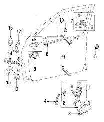 parts com® toyota lock assy door lh partnumber 6932034030 1995 toyota t100 sr5 v6 3 4 liter gas front door