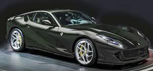 Ferrari 812 superfast 2021 is a 2 seater coupe. Ferrari 812 Superfast 2017 New Black Daytona Diecast Car Hobbysearch Diecast Car Store
