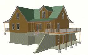 115 40 x 44 custom cabin plans blueprints construction drawings