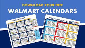 Calendar Year Quarters Walmart Fiscal Year Calendar 2019 2020 Free Download