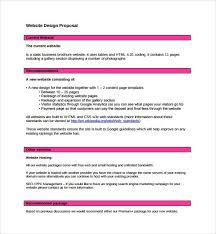 Website Design Proposal Template Amazing Web Design Proposal Templates Henrycmartin
