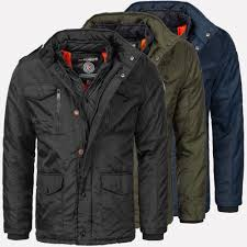 Designer Winter Jackets Details About Geographical Norway Warm Designer Mens Winter Quilted Jacket Winter Jacket New